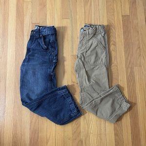 GAP & Woodland Boys Pants - Size 6